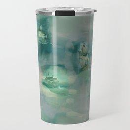 Ghostly Galleons by Katrina Ward Travel Mug