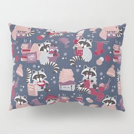 Hygge raccoon Pillow Sham