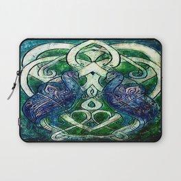Celtic Peacocks Laptop Sleeve