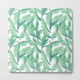 Leaves & Leaves Metal Print