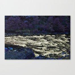 A Walk Through Purple Canvas Print