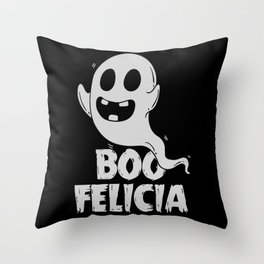 Ironic Rap Music HipHop Ghost Gift For Musicians Throw Pillow