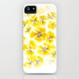 Golden Trumpet-tree iPhone Case
