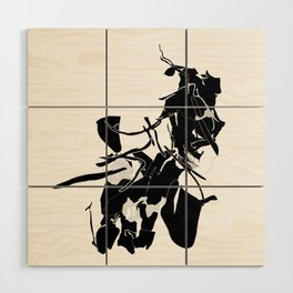 NL no.1 Wood Wall Art