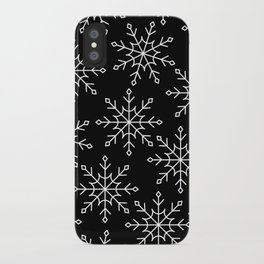Give Me a Black & White Christmas - 3 iPhone Case