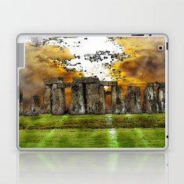 Henge at Sunsleep - Stonehenge Laptop & iPad Skin