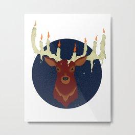 Orion's Flame Metal Print