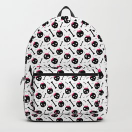 Girly skulls, skulls, skulls... and bones Backpack