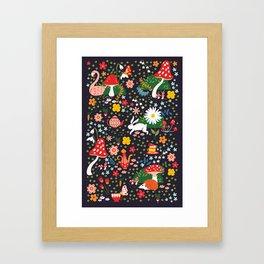 Wandering in Wonderland Framed Art Print