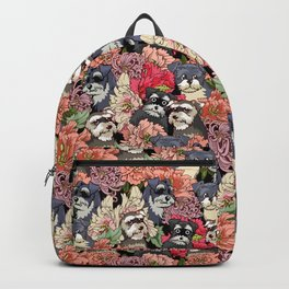 Because Schnauzers Backpack