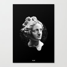 Sculpture Head Canvas Print