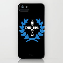 CONDITION HUMAN LOGO iPhone Case