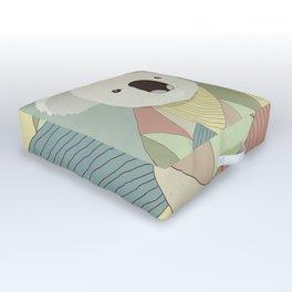 Whimsical Koala Outdoor Floor Cushion