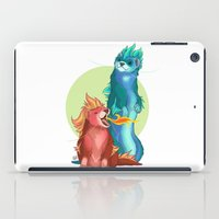 ferret iPad Cases featuring Ferret Dragons by AlliePets
