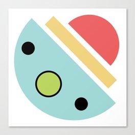Chatty spaceship Canvas Print