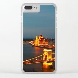 The Chain Bridge Clear iPhone Case