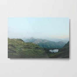 Abyssal landscape photography Metal Print
