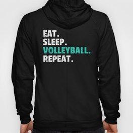Eat Sleep Volleyball Gift Player Coach Mom Hoody