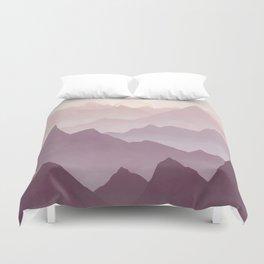 Wanderlust (Mountains) Duvet Cover