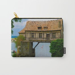 The Old Mill Vernon France Travel Carry-All Pouch