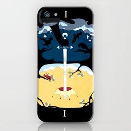 Ace of Swords iPhone Case