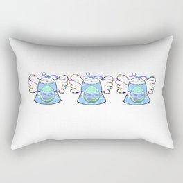 Blue Bell Rectangular Pillow