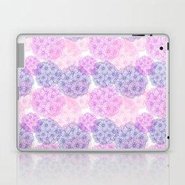Abstract Verbena Flowers Laptop & iPad Skin