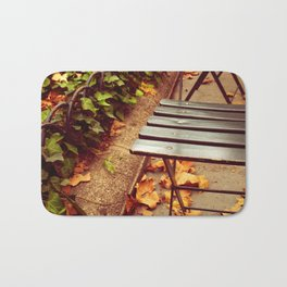 bryant park cafe chair Bath Mat