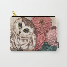 Morning Tea Owl Carry-All Pouch