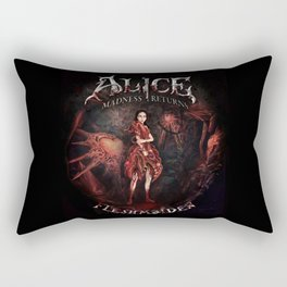 Alice Madness Returns Fleshmaiden Game Rectangular Pillow