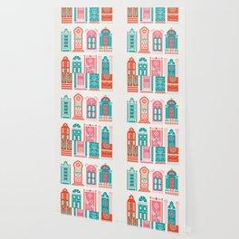 Moroccan Doors – Watermelon Palette Wallpaper