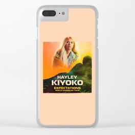 kiyoko tour Clear iPhone Case