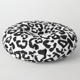 Snow Leopard Pattern Floor Pillow