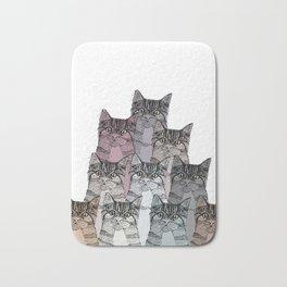 Cats colors Bath Mat