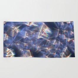 Glassy Refraction 2 Beach Towel