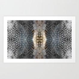 GREY Art Print