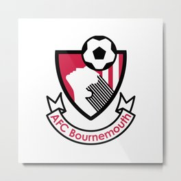 A.F.C. Bournemouth Metal Print