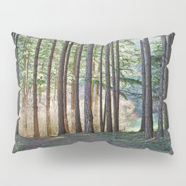 MEADOW LIGHT ON THE FOREST EDGE Pillow Sham