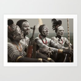 Karo Beauty Art Print