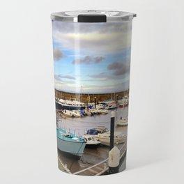Watchet Marina Somerset England Travel Mug