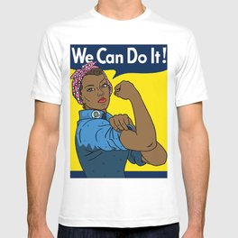 Black Rosie the Riveter T-shirt