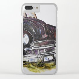 Sit on My Hood Clear iPhone Case