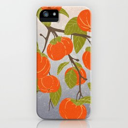 Persimmons iPhone Case
