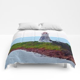 Lighthouse Cape Jourimain N-B Comforters