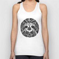 sloth Tank Tops featuring Sloth by Emma Barker