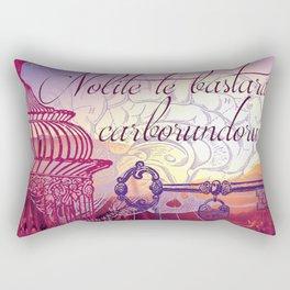 Don't let the bastards get you down Rectangular Pillow