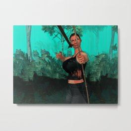 Survivor is shotting Metal Print
