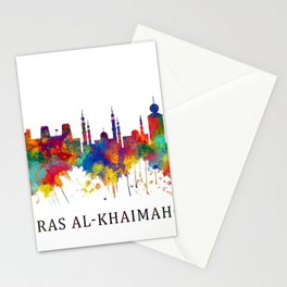 Ras Al-Khaimah UAE Skyline Stationery Cards