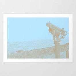 For Distant Viewing Art Print