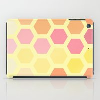honeycomb iPad Cases featuring Honeycomb by MisfitIsle